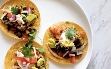 Vegan Street Tacos by Mark Reinfeld