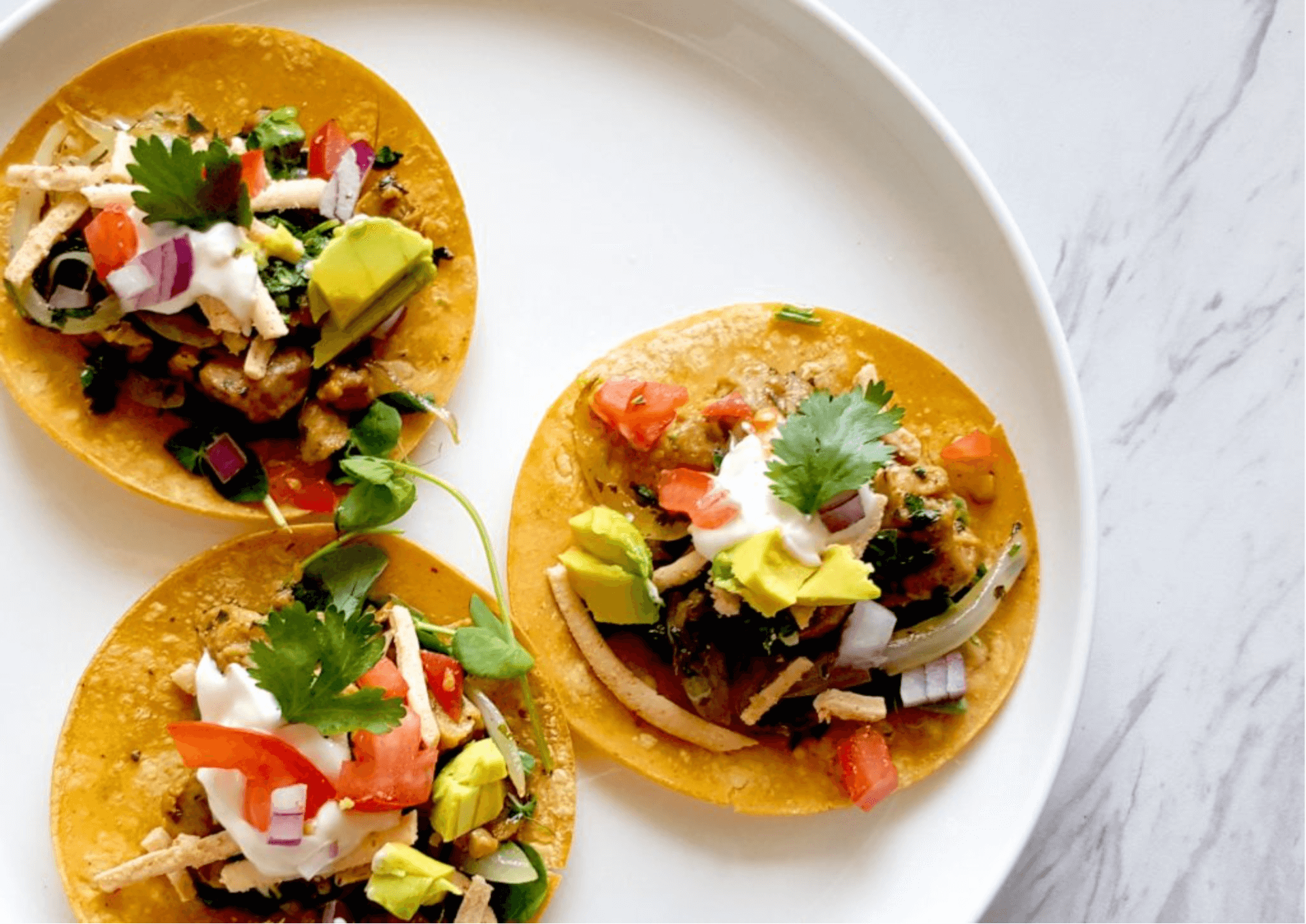 Vegan Street Tacos by Mark Reinfeld